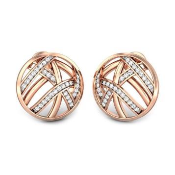 Candere Subhiksha Diamond Earring By Velvetcase.com.