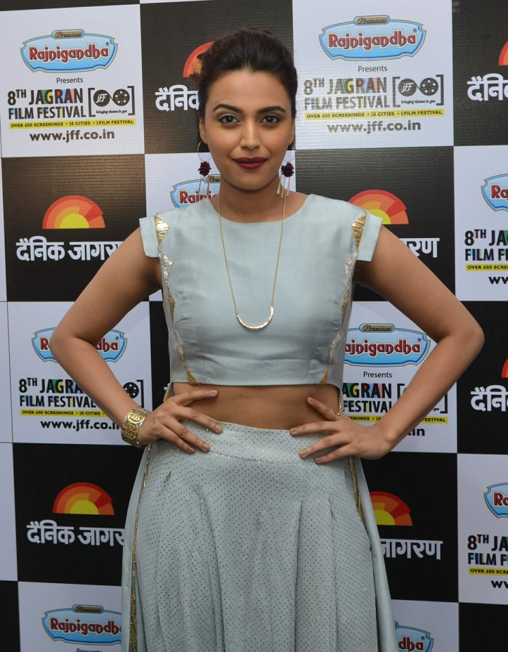 Swara Bhaskar during day 4 of Jagran Film Festival (1).jpg