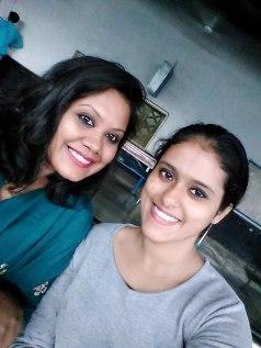 My co-visitor, Parnashree