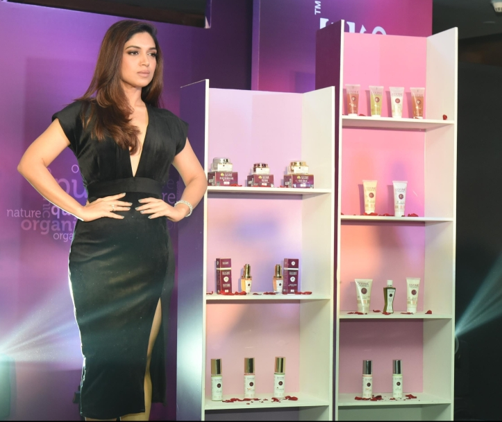 Bhumi Pednekar at the Launch of Divine Organics